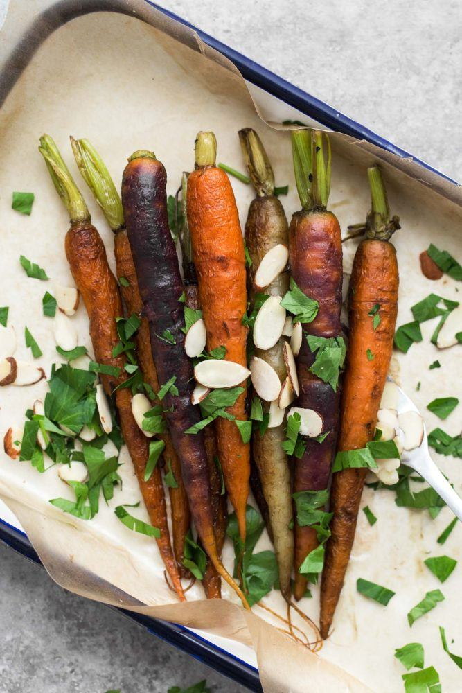 Tea Braised Carrots | @naturallyella