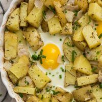 Rosemary Potato Egg Bake