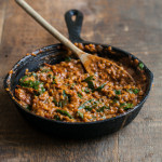 Red Lentil Masala with Spinach