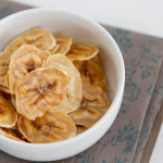 Baked Banana Chips