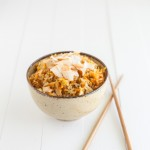 Carrot-Ginger Brown Rice