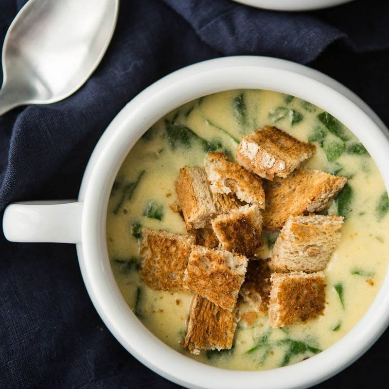 Spinach Bisque