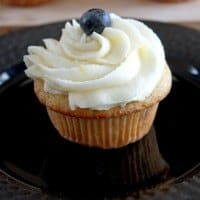 Blueberry and lemon cupcakes- the perfect birthday cake