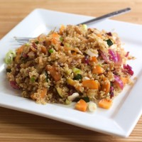 Quinoa and Cabbage Salad