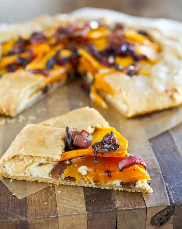 Roasted Butternut Squash Galette