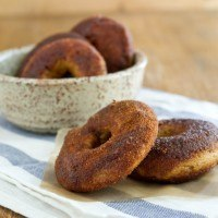 Pumpkin Spice (whole wheat) Doughnuts
