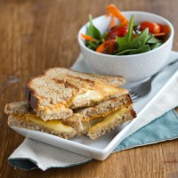 Hummus Grilled Cheese Sandwich