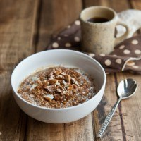 Pumpkin Pie Millet Porridge