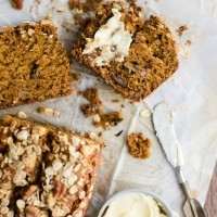 Pumpkin Bread with Oats