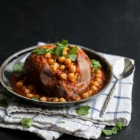 Dried Chickpeas (+Spiced Chickpea Smothered Sweet Potato)