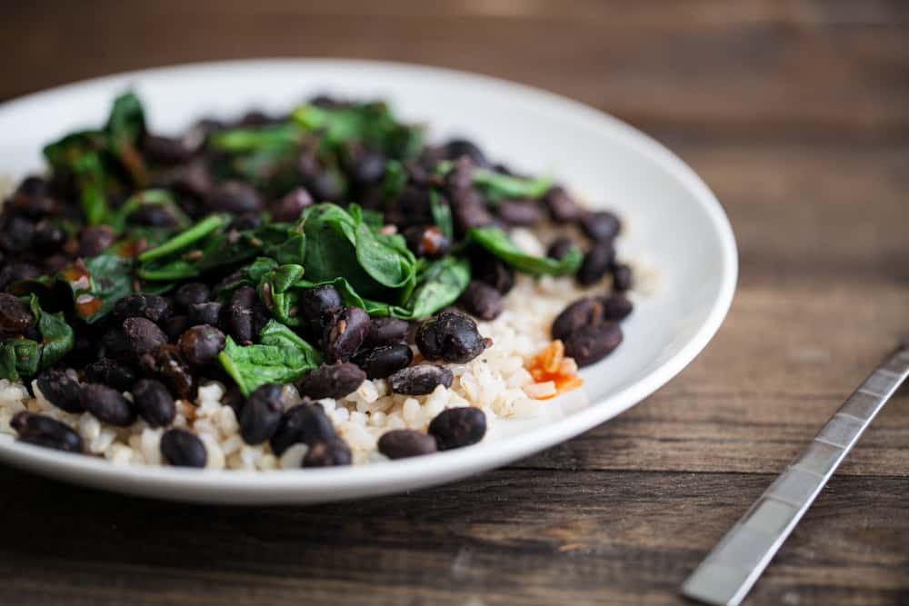 5-Ingredient Blacks Bean and Rices