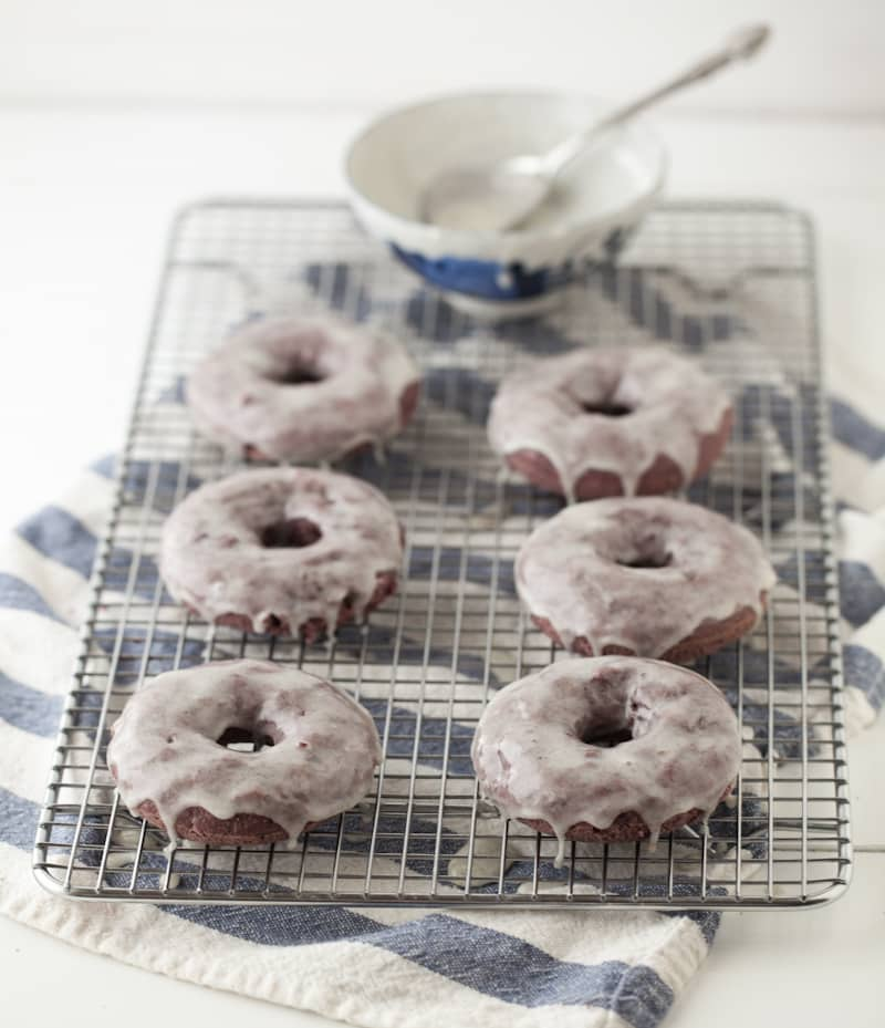 Blackberry Doughnuts | @naturallyella