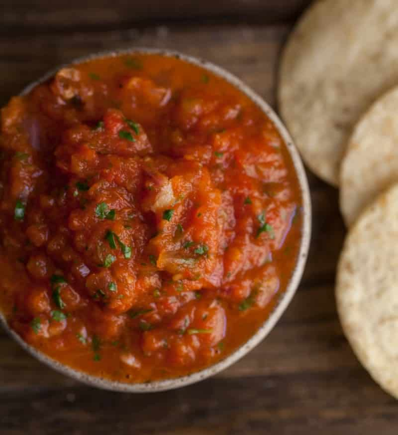 Taco Party- Roasted Tomato Salsa