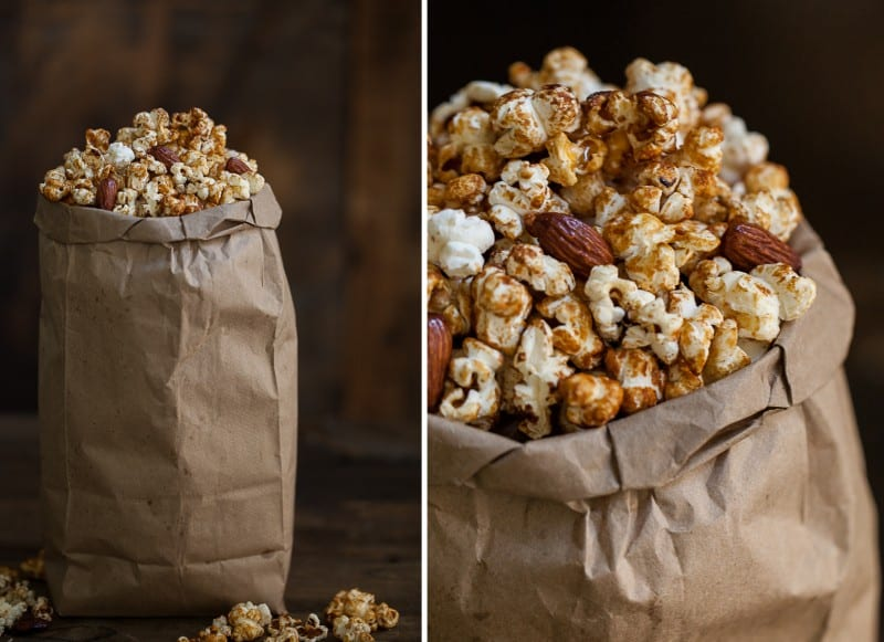 Honey-Almond Popcorn (+ At the Drive-In)