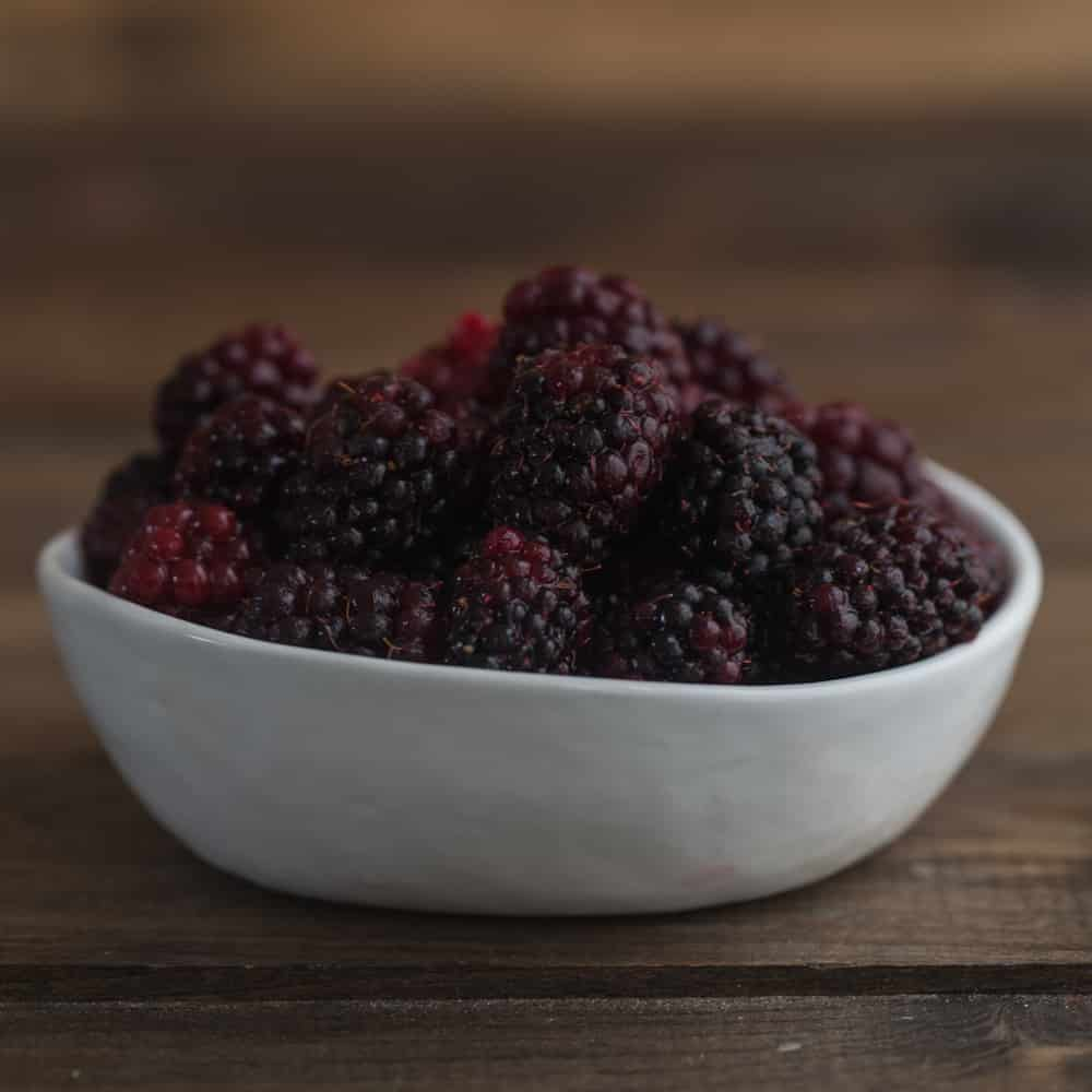 ... like blackberries for cooking. A few favorite blackberry recipes