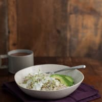 California Barley Bowl (from Whole-Grain Mornings)