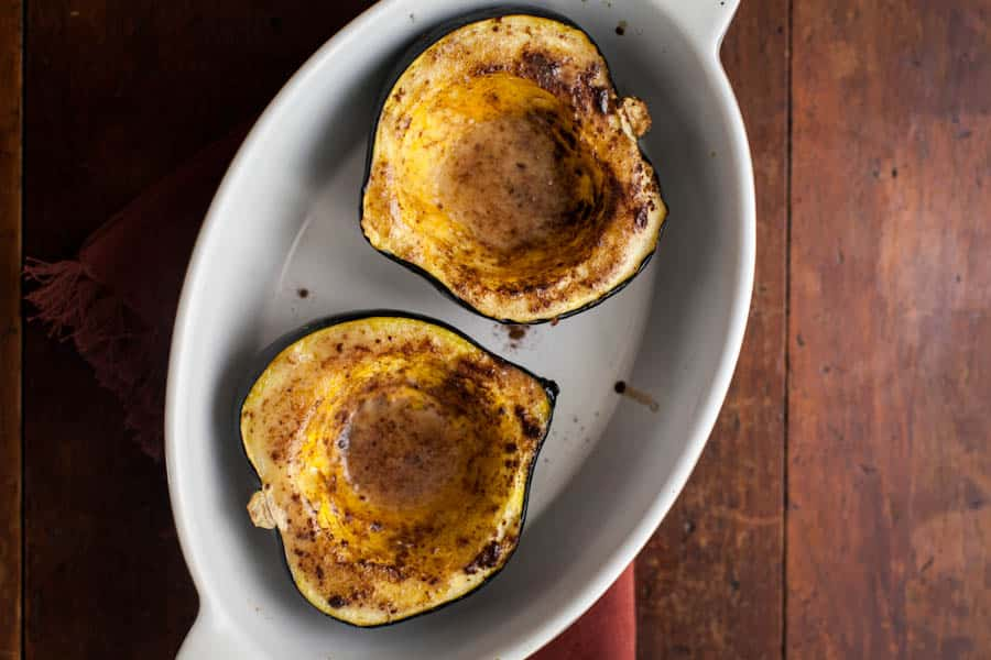maple cinnamon acorn squash-1