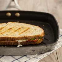 Harissa and Avocado Grilled Cheese Sandwich
