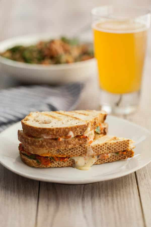 Harissa + Avocado Grilled Cheese Sandwich