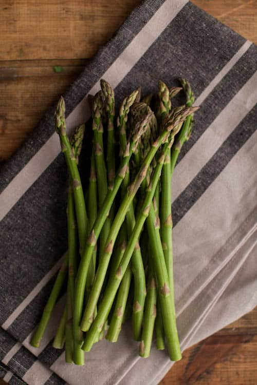 Grilled Asparagus Orzo Pasta