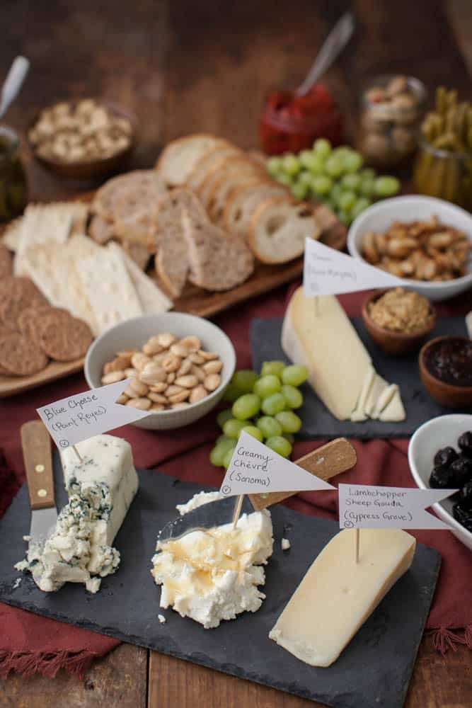 My Favorite Way to Build a Cheese Platter