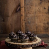 Chocolate Beet Cupcakes with Chocolate Frosting
