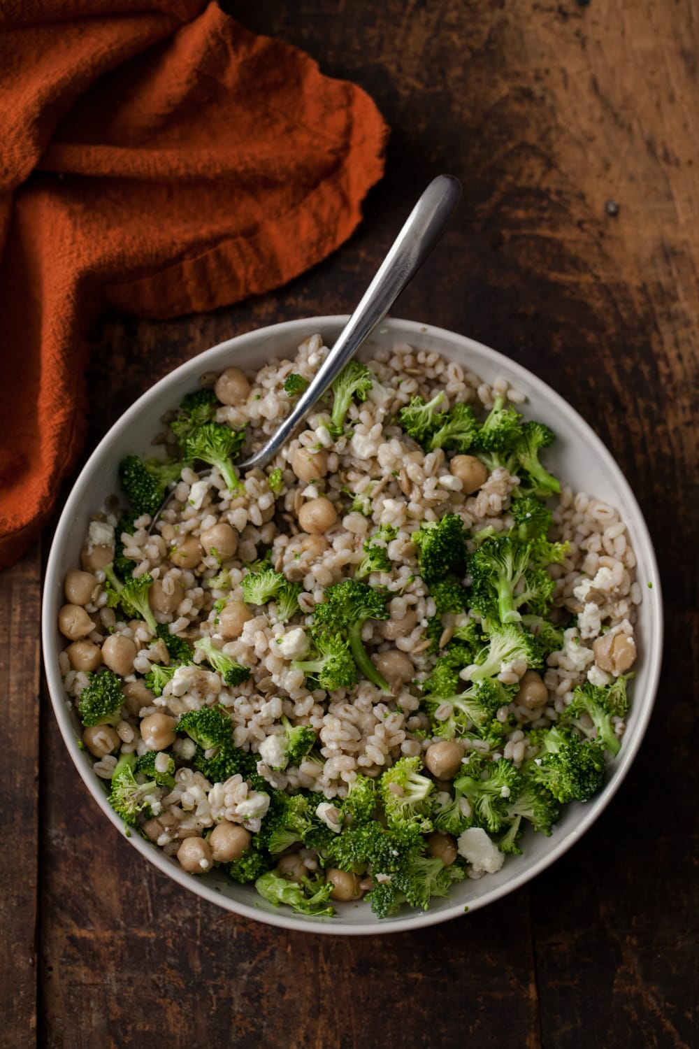 Broccoli Barley Bowl