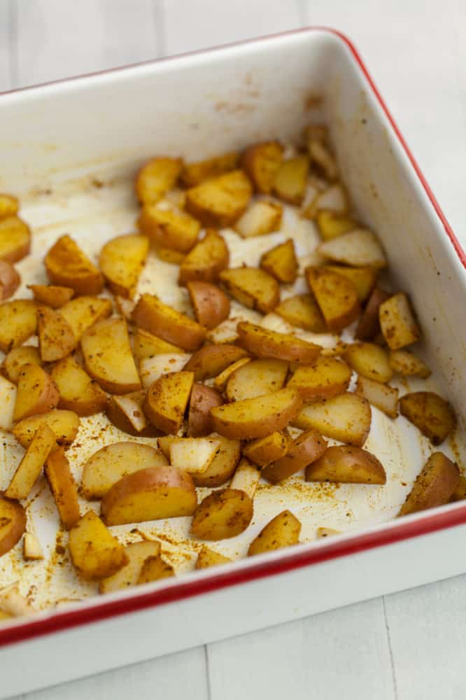 Roasted Potatoes | @naturallyella