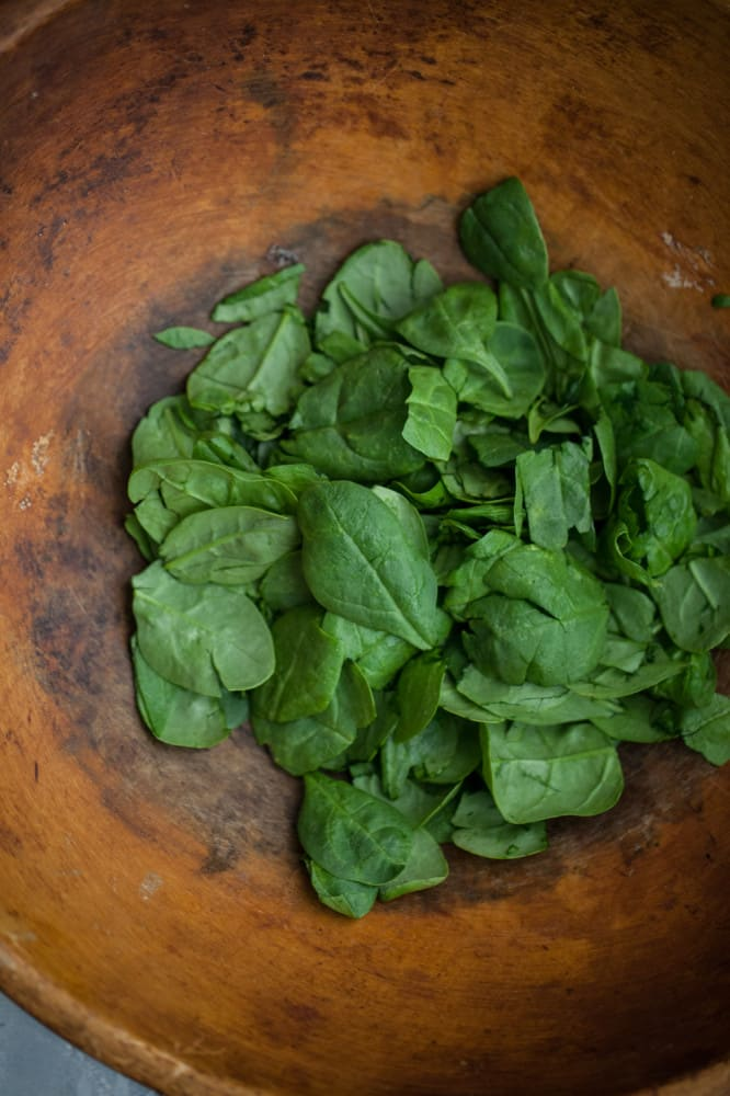 Fresh Spinach  | @naturallyella