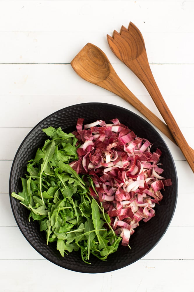 Chopped Endives and Arugula