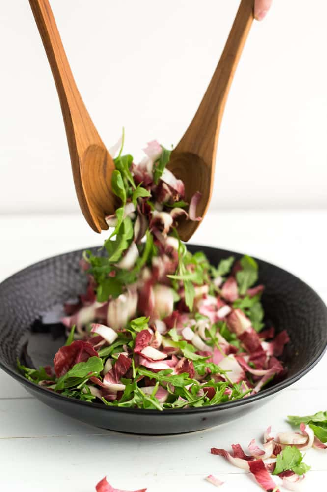 Tossed Arugula and Endives