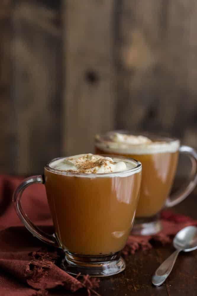 Hot Chai Apple Cider
