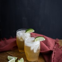 Ginger Lime Fizz | Naturally Ella