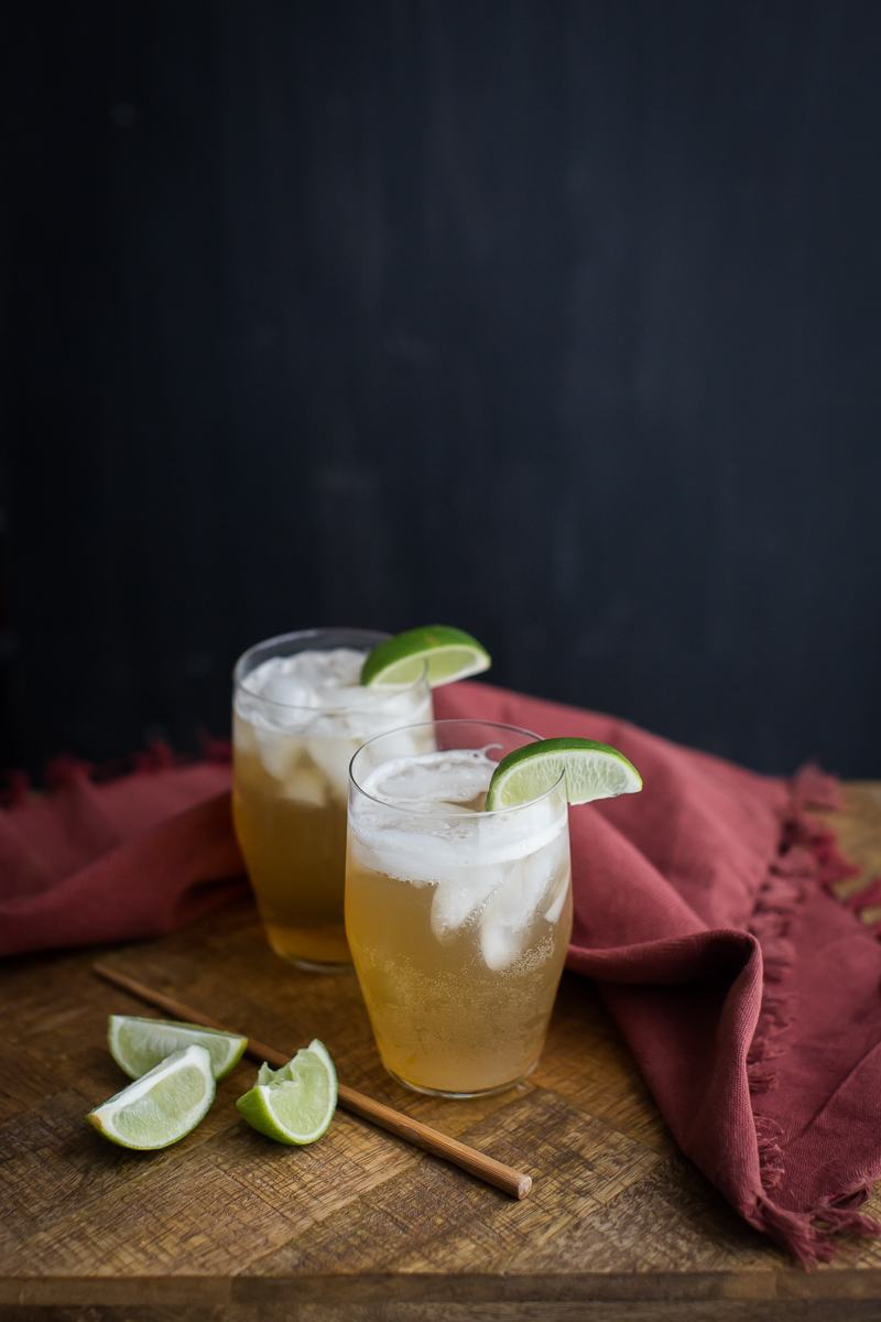 Ginger Lime Fizz | @naturallyella