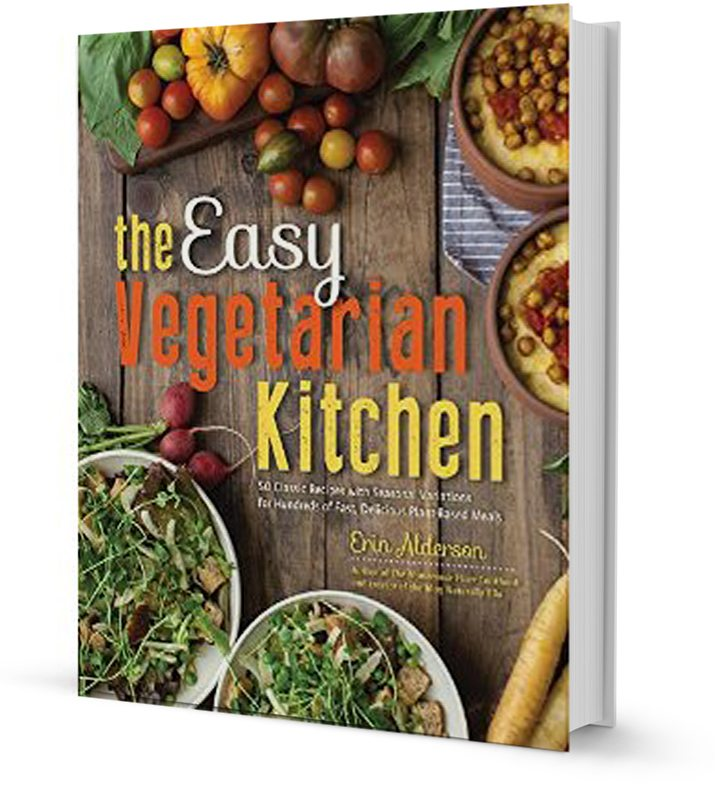 The Easy Vegetarian Kitchen | Erin Alderson (@naturallyella)