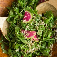 Arugula and Radish Salad (a New Year to #eatnaturally)
