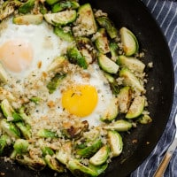Brussels Sprouts and Eggs