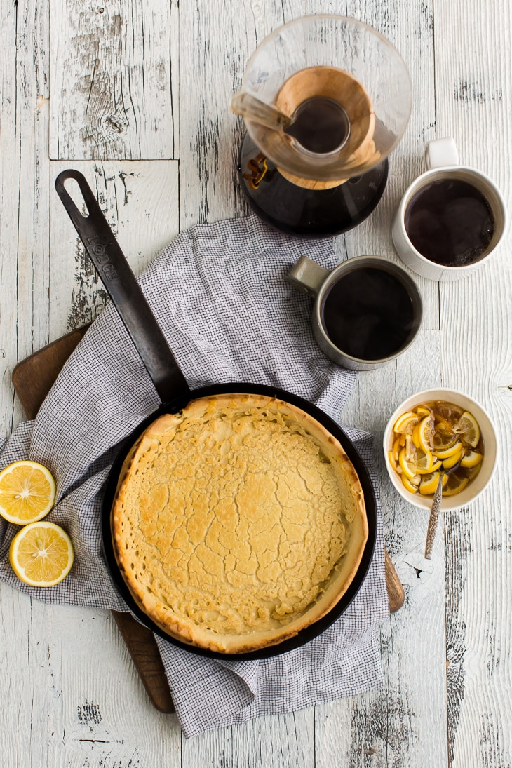 Whole Wheat Dutch Baby | @naturallyella