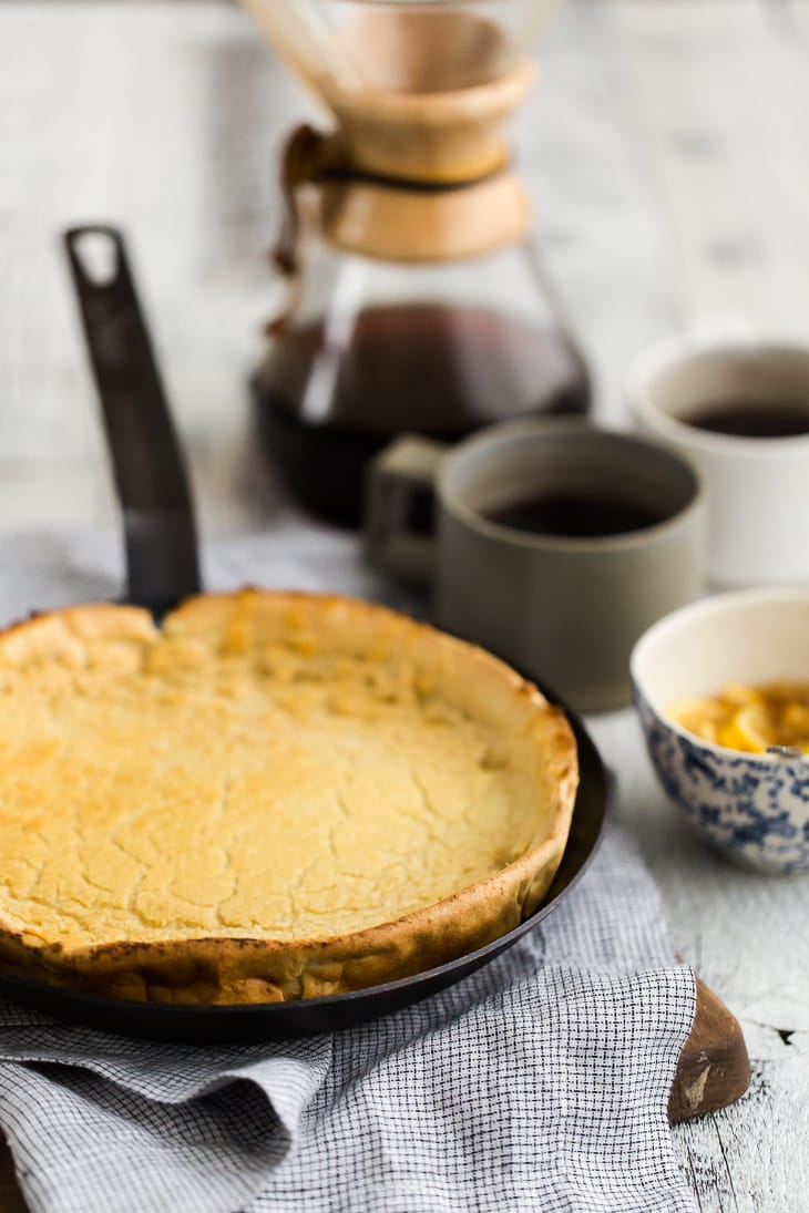 Whole Wheat Dutch Baby Pancake | @naturallyella