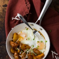 Roasted Romesco Potatoes