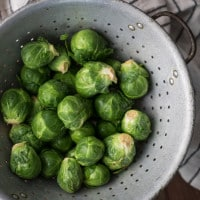 Brussels Sprouts | @naturallyella