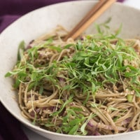 Cold Soba Noodle Bowl
