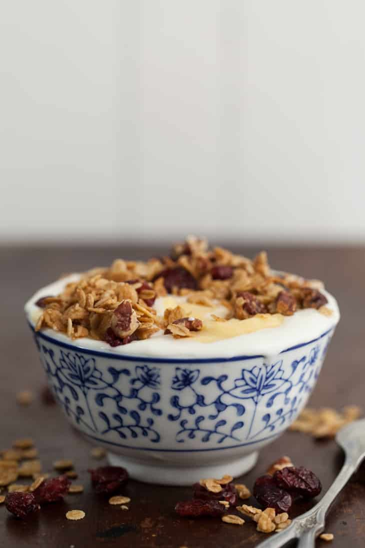 Three Grain Granola | @naturallyella