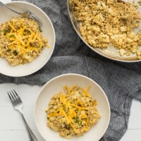 Barley Risotto with Cauliflower and Cheddar