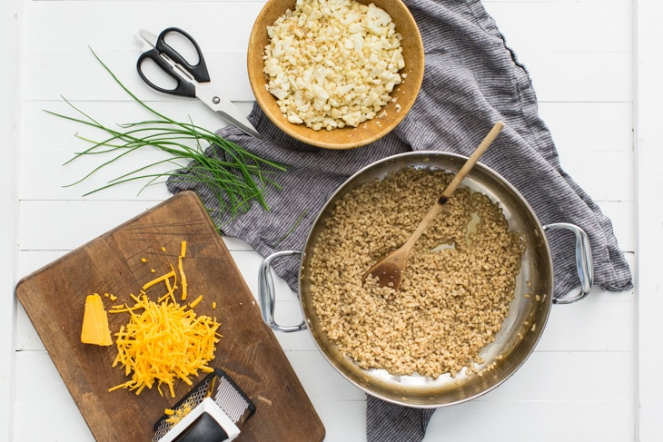Barley Risotto with Cauliflower | @naturallyella