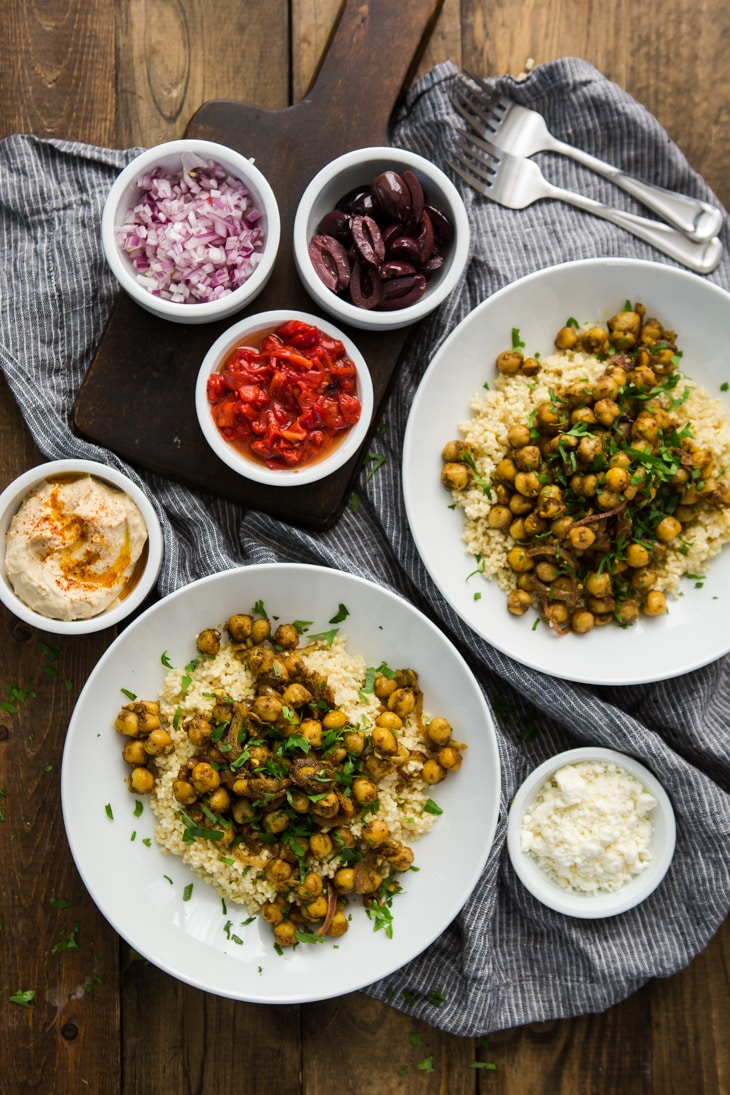 Chickpea Shawarma Recipe with Millet | @naturallyella