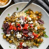 Chickpea Shawarma with Millet