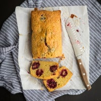 Gluten Free Blackberry Corn Cake