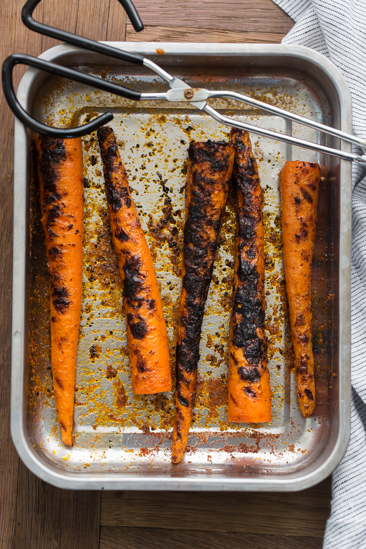 Grilled Carrots | @naturallyella