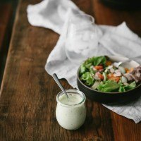 Roasted Garlic and Dill Dressing (+ Garden Update/Edyn Review)